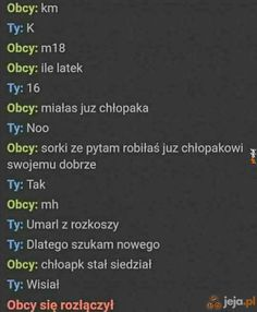 Niezręczna rozmowa Funny Sms, Wtf Funny, Wtf Moments, Reaction Pictures, Sad, Messages, Humor, Memes, Gumball