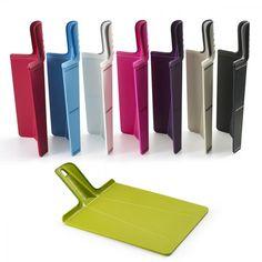 Perfect for tidy chefs...the Joseph Joseph Chop2Pot™ Plus, the original folding chopping board.