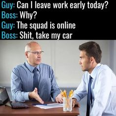 The boss every employee wants to have  #gamers #gaming