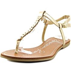 d12e96c4801e1 American Rag Womens Kelli Braided Thong Sandals Gold Size 75 -- Details can  be found by clicking on the image.