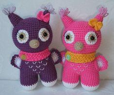 Amigurumi Baby Owl Free Pattern – Amigurumi Free Patterns And Tutorials Amigurumi Giraffe, Amigurumi Doll, Amigurumi Patterns, Crochet Patterns, Amigurumi Tutorial, Crochet Birds, Cute Crochet, Knit Or Crochet, Crochet Numbers