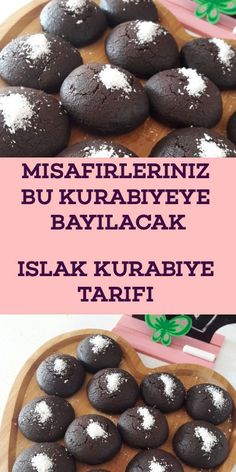 rezept Wet cookies recipe that will suit your taste and your guests will like. You can prepare cookies for your future guests in a short time. Muffins, Turkish Recipes, Desert Recipes, Nutella, Oreo, Cookie Recipes, Deserts, Food And Drink, Sweets
