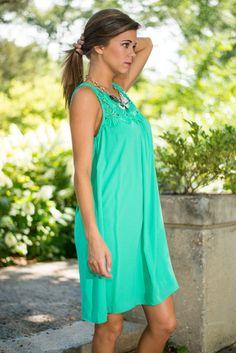 Soak Up Some Fun Dress, Green