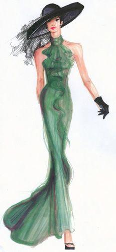 Fashion Illustration, (marker, pencil), 2008.