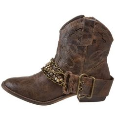 steve madden boots with chain My absolute favorite booties EVER!!!!!