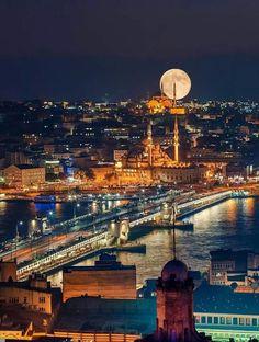 ✿ ❤ Galata Köprüsü, İstanbul.