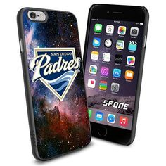 San Diego Padres MLB Galaxy Logo WADE6176 Baseball iPhone 6 4.7 inch Case Protection Black Rubber Cover Protector WADE CASE http://www.amazon.com/dp/B013Z0VU46/ref=cm_sw_r_pi_dp_kSCBwb1FKF9VM