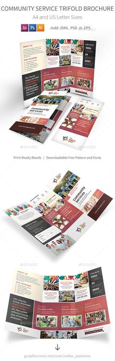 Travel Brochure Template Travel brochure template, Travel brochure - community service letter