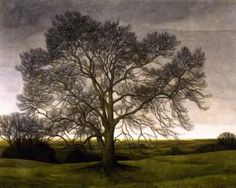 Landscape  Svend Hammershoi - 1901