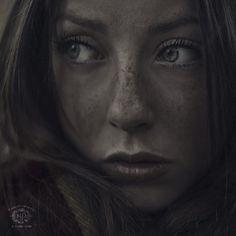 Innocent Eyes by M.D. Art