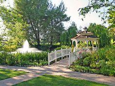 Westlake Village Inn garden weddings Los Angeles wedding location 91361