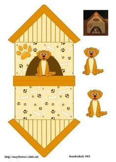 Image result for printable dog kawaii paper crafts