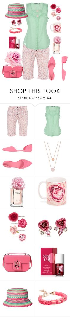 """Rosebud"" by glamourgrammy ❤ liked on Polyvore featuring Toad&Co, Melissa, Michael Kors, Tommy Hilfiger, Accessorize, Betsey Johnson, Alexander McQueen and Benefit"