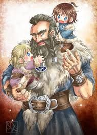 """-characters from """"The Hobbit"""" by J. Painted with Photoshop & IllustStudio Young Dwalin and Fili,Kili Fili Et Kili, Kili And Tauriel, Hobbit 3, Bagginshield, Wife And Kids, Jrr Tolkien, Middle Earth, Lord Of The Rings, Lotr"""