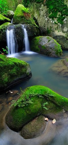 Andalucía / Spain - Natural Park of the Acorns in Andalucia, Spain Beautiful World, Beautiful Places, Beautiful Pictures, Wonderful Places, All Nature, Amazing Nature, Green Nature, Beautiful Waterfalls, Beautiful Landscapes