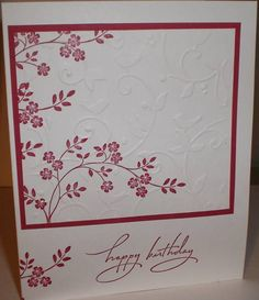 Birthday Thoughts by dlsplu - Cards and Paper Crafts at Splitcoaststampers