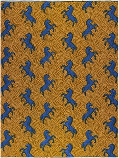 Jumping Horse - #textile