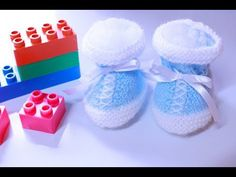 Sapatinho Novo no blog |Sapatinho para bebê em tricô – Tricotando Crochê