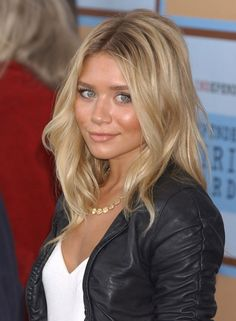 416512665509159527 Not that I want to look like an olsen but they always had the best blonde hair