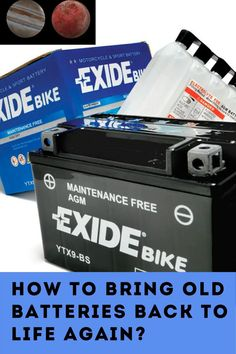 How to recondition batteries Cordless Drill Batteries, Ryobi Battery, Rv Battery, Lithium Battery Charger, Off Grid Batteries, Lead Acid Battery, How To Recycle Batteries, Battery Recycling, Battery Hacks