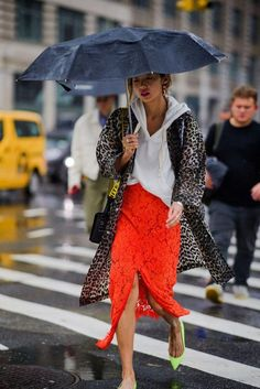 Idée et inspiration street style tendance 2017   Image   Description   The Best Street Style at New York Fashion Week Day 6- HarpersBAZAAR.com #streetfashion