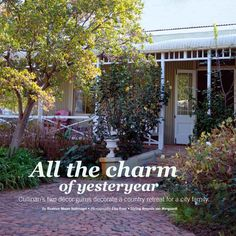 HOME /TUIS Magazine Oct 2015 features a Cullinan weekend house decorated by JanHarmsgat & Rust in White. Weekend House, Rust, Wedding Venues, Beautiful Places, Magazine, Country, City, Outdoor Decor, Plants