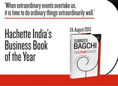 Launch of The Elephant Catchers by Subroto Bagchi! 24th August, 2013, Bangalore!