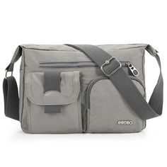 Men Women Multi-pocket Casual Shoulder Bags Crossbody Bags is worth buying - NewChic Mobile.