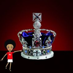 I ended off my day today at the Cullinan Diamond Mine. Look at this replica of the British Crown Jewels, it is the shiniest, most beautiful thing I have ever seen! I've spent the whole evening imagining that I'm a princess and this is my crown. Amazeballs! #zibu #heritagemonth #southafrica Moja Heritage Collection http://tinyurl.com/nfyp5c9