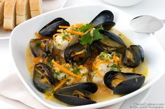 STEW RECIPES IMAGES | Slow Cooker Seafood Stew Recipe: Cioppino with Southwest Twist