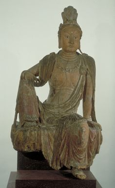 Unknown, Chinese  Bodhisattva Guanyin on Mount Potala, Southern Song Dynasty…