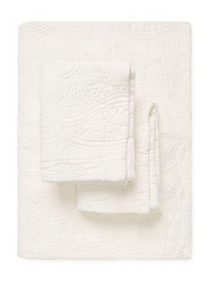 Belle Epoque Paisley Cotton Queen Coverlet Set