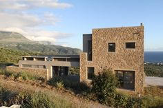 ARCHISEARCH.GR - HIBOUX ARCHITECTURE House in Mani