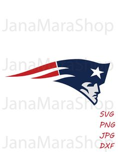 New England Patriots Football logo svg, digital download, SVG, DXF ...