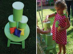 Fabulous Features by Anders Ruff Custom Designs: A Beautiful Backyard Carnival