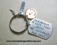 Hey, I found this really awesome Etsy listing at https://www.etsy.com/listing/177712931/handstamped-godmothergodfather