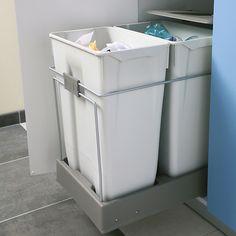 poubelle sous évier à sortie totale lmpou6291gr | poubelles pour