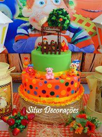 Birthday Cake, Bolo Fake, Desserts, Food, Farm Party, Toddler Boy Birthday, Toddler Girls, Farms, Theater
