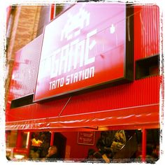 Taito Station in Japan  #arcade #japan #terminator #classic #games #taito