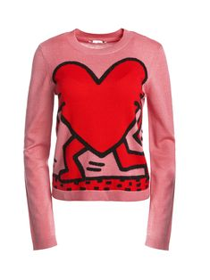 0fb332f56f2 KEITH HARING X AO CHIA PULLOVER by Alice + Olivia Sterling Cooper Draper  Pryce