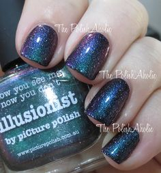 The PolishAholic: piCture pOlish LE Collection Swatches