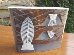 HORNSEA fish pottery - Ron Mitchell