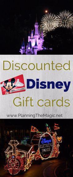 Best 25+ Disney gift card deals ideas on Pinterest   Disney gift ...
