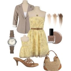 """And it was all yellow"" by kaseyofthefields on Polyvore"