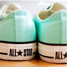 I luv the mint converses!