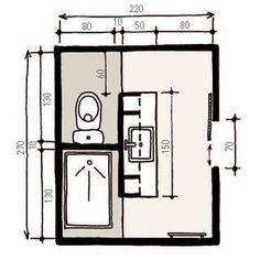 Bath room layout basement pocket doors new Ideas Ensuite Bathrooms, Bathroom Toilets, Laundry In Bathroom, Bathroom Renos, Basement Bathroom, Bathroom Flooring, Bathroom Interior, Bathroom Ideas, Bath Laundry Combo