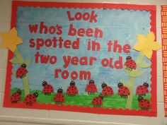 Bulletin board did by the 2 at wca. Back to school