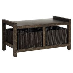Found it at Wayfair - Sweden Storage Console Table in Chocolatehttp://www.wayfair.com/daily-sales/p/Traditional-Storage-Pieces-Sweden-Storage-Console-Table-in-Chocolate~FV48831~E13144.html?refid=SBP.rBAZKFPo_c9v9nH6CVCUApIUxRREA0xYvb2EVX18bsc