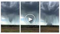 This Incredibly Rare Rain Bomb Falling From The Sky Looks Insane(VIDEO) - http://nativewarriors.co/2016/05/incredibly-rare-rain-bomb-falling-sky-looks-insane/