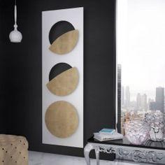 Eclips Blanc in finitura Colore RAL 9010 Bianco Puro + finitura in Foglia Oro